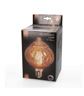 B. DEC. LED PUMPKIN 125 EDISON 4W REG