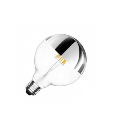 Globo Led Cup. Pl. 6W 125mm LC Reg.