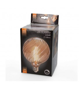 B. DEC. LED G125 PUMPKIN EDISON 4W REG.
