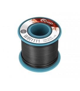 m. cable 0,50mm negre