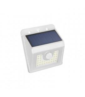 APLIQUE 30 LED SOLAR BLANCO SENSOR 4 W