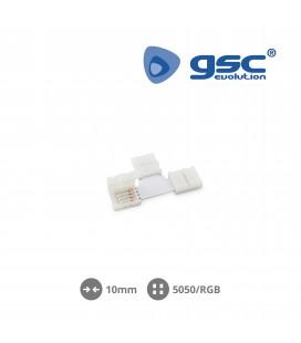 Clip en forma de T 10mm SMD5050/RGB