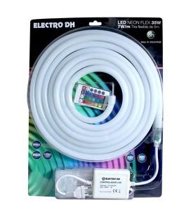 Tira de LED neon flex RGB de 5 metros,