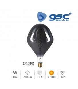 Lamp Vintage Smoke pera XL 8W E27 2700k